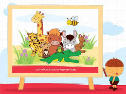 kids draw animals with steps android apps on google play