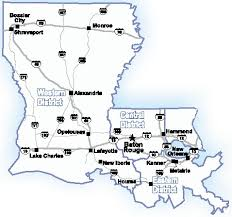 map of louisiana cities overview louisiana threat assessment