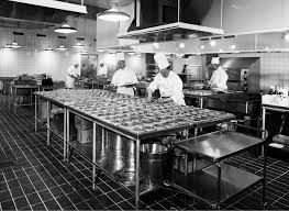 file kastrup airport cph copenhagen flight kitchen 1950s 1960s