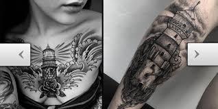 Lighthouse Tattoo Ideas Tattoos Com Unbelievably Incredible Lighthouse Tattoo Ideas