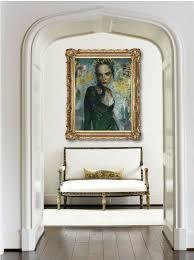Elegant Entryways Small Spaces An Elegant Foyer Merritt Gallery U0026 Renaissance