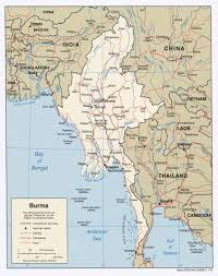 Elk Population Map Burma Myanmar Maps Perry Castañeda Map Collection Ut Library