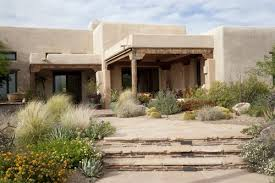 frank lloyd wright inspired home with lush landscaping arizona landscaping ideas landscaping network