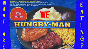 hungry man smokin u0027 backyard barbecue what are we eating why