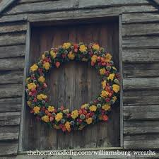 colonial williamsburg wreaths inspiration an easy