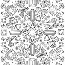 mandala coloring coloring pages hellokids