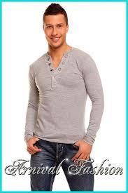 new men u0027s long sleeve tops for men casual wear fashion online