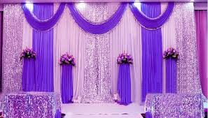 wedding backdrop design singapore 3m 6m silk milk white wedding backdrop curtains gold swag with