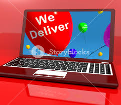 deliver ballons we deliver balloons on computer shows delivery shipping service or
