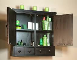 Black Bathroom Wall Cabinet Unfinished Bathroom Wall Cabinets Bathroom Cabinet