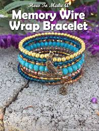 bracelet wrap wire images Boho leather wrap bracelet running with sisters jpg