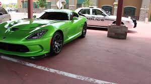 Dodge Viper Green - lime green srt viper gts spotted in superior colorado youtube