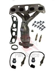 nissan altima o2 sensor exhaust manifold with o2 sensors catalytic converter fits nissan