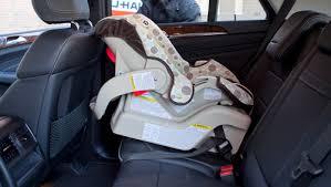 mercedes baby car seat 2012 mercedes m class car seat check cars com