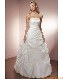 tissus robe de mariã e robe de mariée bustier perlé en taffetas