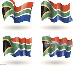 African Flag Illustration Of Flag Of South Africa Horizontal Bands Of Red Blue