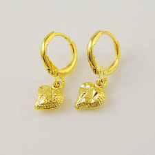 earrings gold design aliexpress buy 2015 new design high quality 24k yellow gold
