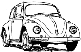 volkswagen bus drawing images of cartoon vw on pinterest sc