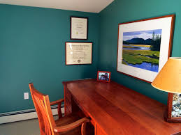 image home office with blue walls on manhuagbang wonderful before