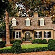 exterior accent color for yellow brick cape cod style u0027 house