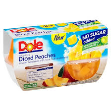 dole fruit bowls dole diced fruit bowl 4oz 4ct target