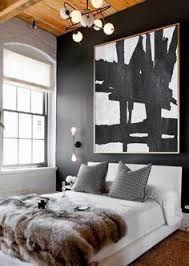 Black Painted Walls Bedroom Modern Bedroom Gilt Home Experts Pinterest Accent Walls