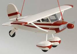 airplane ornaments for decore