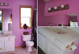 wonderful small bathroom idea with bath tub and good window purple