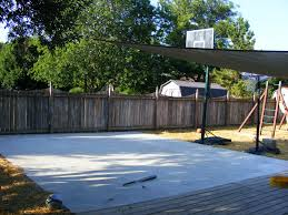 Backyard Basketball Court Mom 3 Ways Backyard Basketball Court
