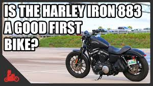 How To Finally Start Bike by Is The Harley Sportster Iron 883 A Good Starter Bike Youtube