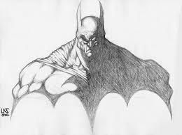 drawn batman sketch pencil color drawn batman sketch