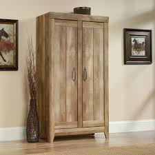 Door Storage Cabinet Adept Storage Wide Storage Cabinet 418141 Sauder