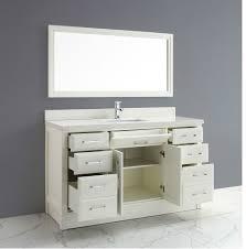 60 Inch Bathroom Vanity Single Sink by Calais 60 Inch Transitional Single Sink Bathroom Vanity White