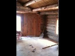 hardwood floor installation leveling the floors in the log cabin