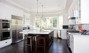 White Kitchen Cabinets Dark Wood Floors Dark Wood Kitchens White Kitchen Cabinets With Dark Hardwood