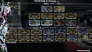 Icy Avalanche Change The Exilus Slots To Utility Slots That Accepts Augment Mods