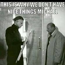 Scary Halloween Memes - halloween halloween movie pinterest horror michael myers and