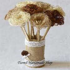 burlap flowers burlap flowers page 1 of 1 wedding products from