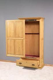 Small Shelf Woodworking Plans by Best 25 Gun Cabinets Ideas On Pinterest Wood Gun Cabinet Gun
