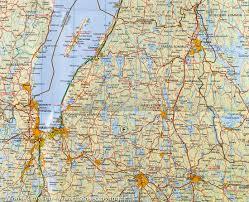 Map Sweden Southern Sweden West Road Map 2 Kummerly Frey U2013 Mapscompany