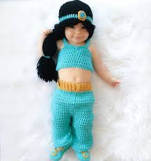 princess jasmine inspired costume crochet princess jasmine