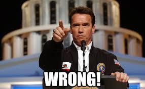 Arnold Schwarzenegger Memes - wrong arnold schwarzenegger memes