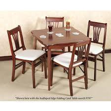 5 piece card table set 5 piece card table set mainstays and chair black amazon pc walmart