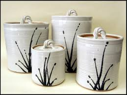 white kitchen canisters sets ceramic kitchen canisters set home design ideas