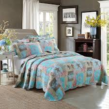 theme comforters newrara seashell bedding theme quilt