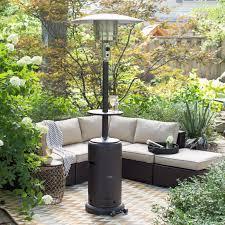 Hiland Tall Outdoor Patio Heater by Az Patio Heaters Mocha Tall Patio Heater With Table Hayneedle