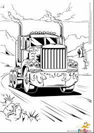 beautiful semi truck colouring pages page with semi truck coloring
