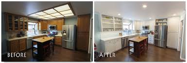 Fluorescent Light Kitchen Fluorescent Kitchen Light Remodel Kitchen Lighting Design