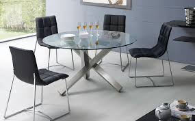 Modern Round Dining Table Sets Chair Glass Kitchen Table Sets Rectangular Roselawnlutheran Dining