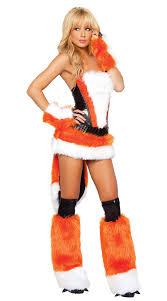 Fox Halloween Costume Luxurious Faux Fur Fox Costume M1014